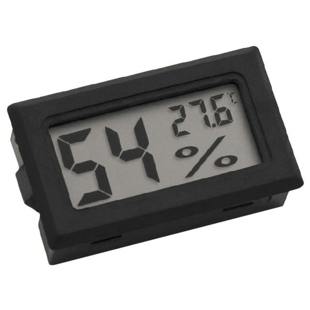 1 PCS Mini LCD Digital Thermometer Hygrometer Temperature Indoor Convenient Temperature Sensor Humidity Meter Gauge Instruments
