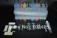 Universal 8Color CISS Kits With All Accessaries Ink Tank For Epson HP Canon Brother Printers CISS