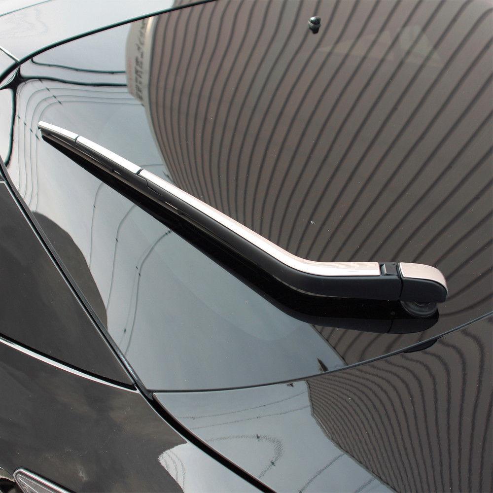 4 PCS Aço Inoxidável SUS304 Exteiror Janela Limpador Traseiro Guarnição Tampa Estilo Do Carro Para Toyota Prius 4 ZVW50 2015 UP