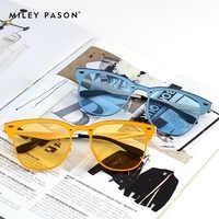 Offre spéciale mode Ultra-texturé vintage rétro oculos UV400 col femme lunettes de soleil femmes élégant gafas marque de luxe conçu 3576