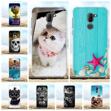 For Alcatel 3X Case Ultra-thin Soft TPU Silicone 5058I 5058Y Cover Wild Lion Patterned Shell Bag