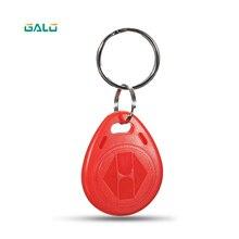 Galo 10 шт./лот RFID карты 125 кГц Rfid брелоки тег(синий красный желтый) для смарт ворота электронный замок