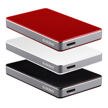 SATA I/II/III to USB3.0 6Gbps 2.5″ external HDD/SSD hard disk drive enclosure/case/box for PC computer Notebook Free shipping