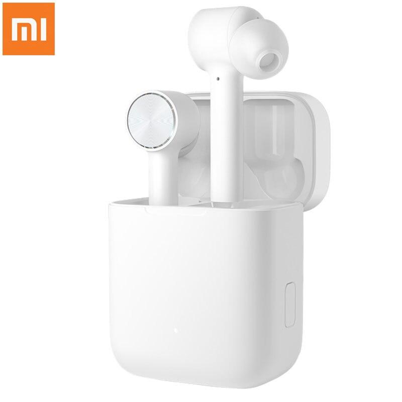 2019 Original Xiaomi TWS Ar Interruptor de Fone de Ouvido Estéreo de Fone De Ouvido Bluetooth Sem Fio Verdadeira ANC ENC de Pausa Automática Tap Control Airdots Pro