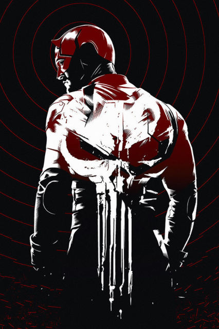 Daredevil comic poster