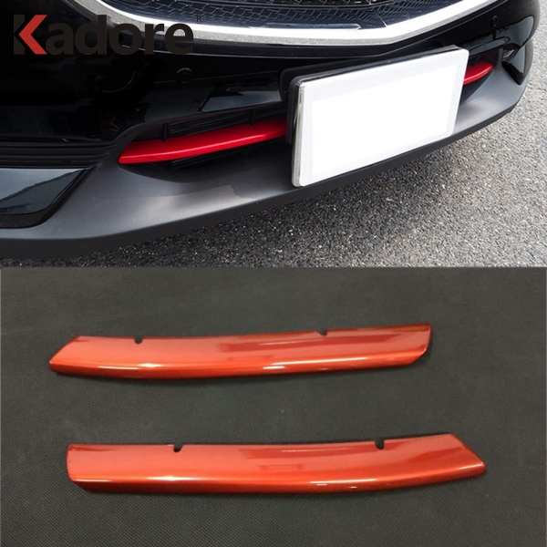 For Mazda CX-5 CX5 2017 2018 2019 KF ABS Front Grille Bumper Glossy Racing Grill Molding Around Cover Trim Exterior Accessories