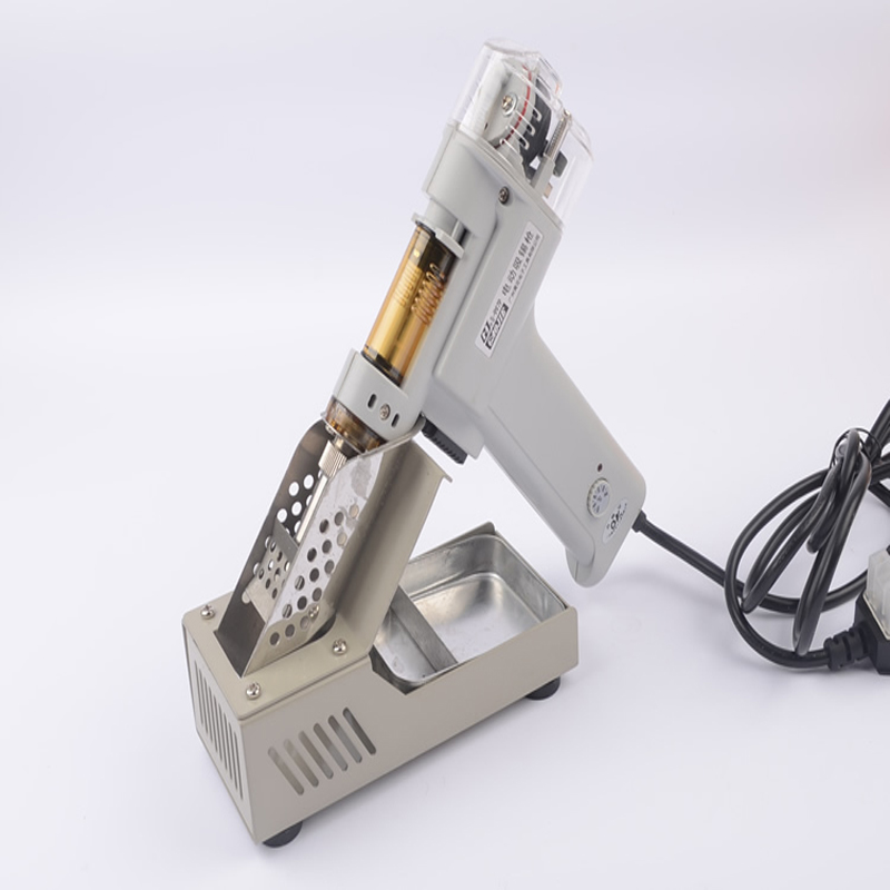 Electric Vacuum Double-Pump Solder Sucker Desoldering Gun Soldering Iron S-998P  цены