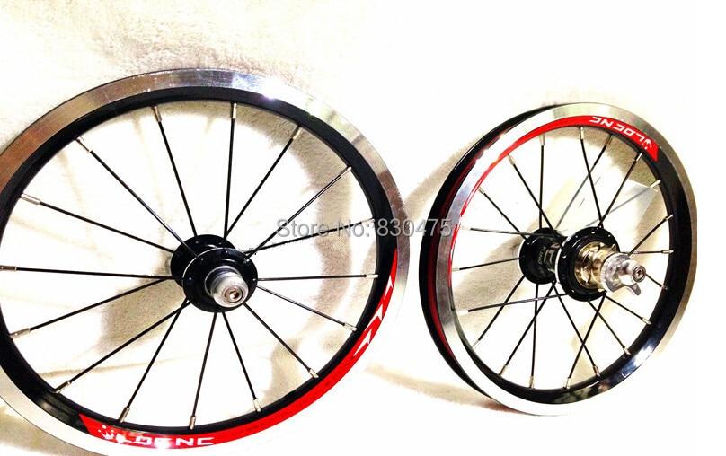 Ldcnc Wheel Set Bya412 Upgrade Wheels Set Folding Bike 14 Inch