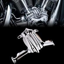 Cubierta de acento de bloque de Tappet / Lifter cromado para Harley, cámara gemelos Street Glide Road King, modelo 00 16