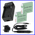 Battery (2-Pack) + Charger for Canon PowerShot SX170,SX500 IS,SX240,SX260,SX270,SX280,SX510,SX520,SX600,SX700 HS Digital Camera