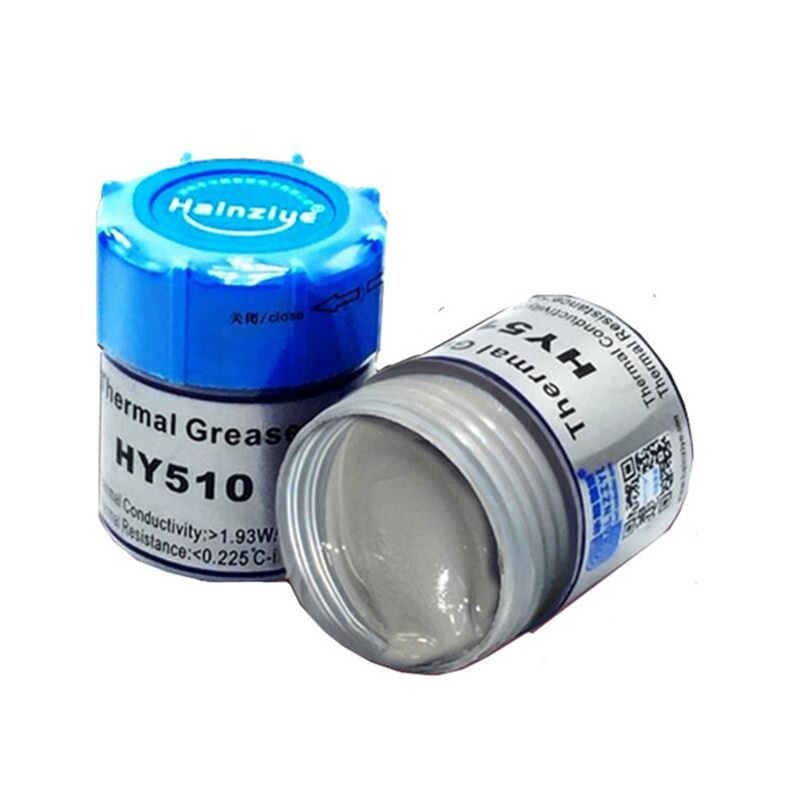 US $3 98 |New 15g Silver cpu Thermal Grease Thermal Grease with Blade  Computer Laptop GPU Cooling paste silicone Fan Thermal Paste-in Silicone  Sealant