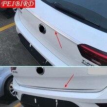 Авто аксессуары для Volkswagen T-Roc T Roc 2018 2019 2020 задние крышки багажника & Верхняя задняя дверь накладка прокладка крышки отделкой