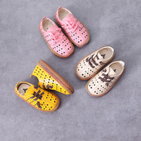 WENDYWU 2017 spring summer boys girls oxford shoes sneakers children leather shoes boys brand shoes girls fashion shoes
