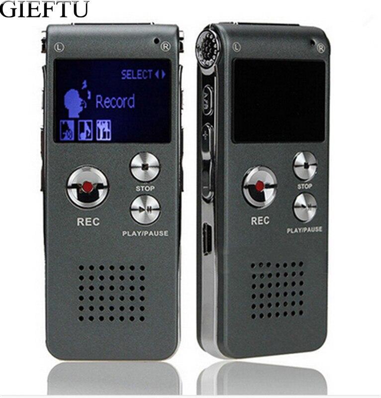 Голос Регистраторы 8 ГБ Марка Mini USB флэш-Цифровой Аудио Голос Регистраторы 650Hr Диктофон MP3-плееры