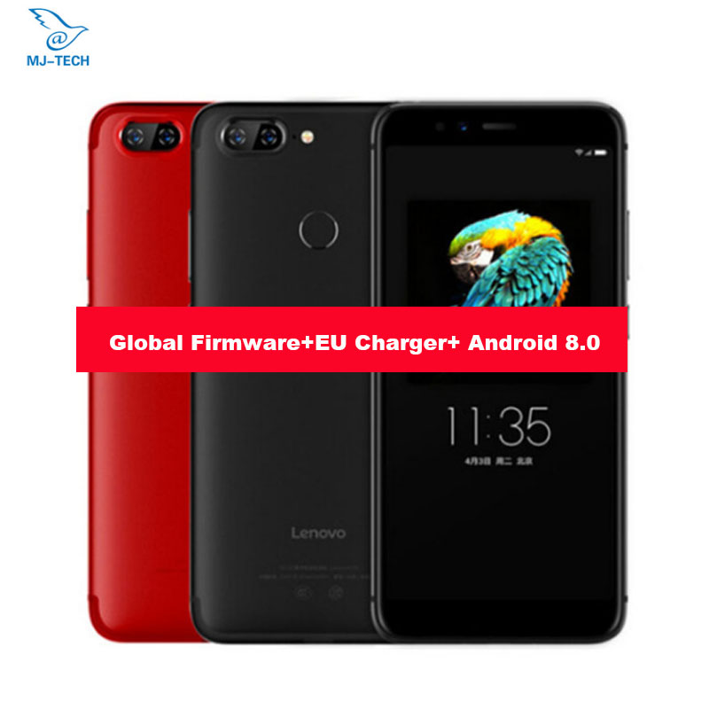 Global firmware Lenovo S5 Android 8 0 ZUI 3 7 MetalBody Snapdragon625 Octa core 18 9