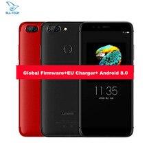 Küresel firmware Lenovo S5 Android 8.0 ZUI 3.7 MetalBody Snapdragon625 Octa çekirdekli 18:9 5.7 Inç BigScreen Çift Cemaras Telef...