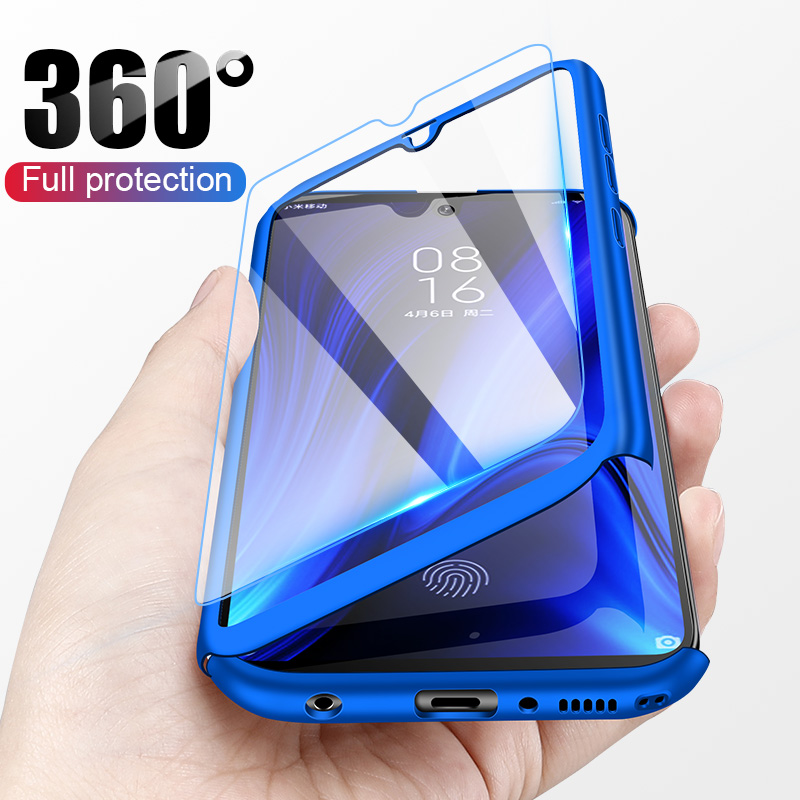 Luxury 360 Full Cover Case For Huawei Y9 Y7 Prime Y6 Pro 2019 Protective Case For Huawei Y7 Y6 2018 Y5 2017 P smart Z Phone Case-in Fitted Cases from Cellphones & Telecommunications