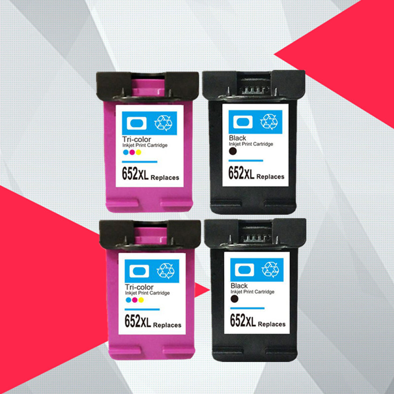 For hp652 652 Refill Ink cartridge replacement for HP 652XL for HP Deskjet 1115 1118 2135