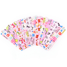 50pcs Waterproof Breathable Cute Cartoon Band Aid Hemostasis Adhesive Bandages First Aid Emergency Kit For Kids Children free shipping 100pcs 7 2cmx1 9cm standard waterproof breathable bandages band aid first aid emergency care prevent rubbing foot