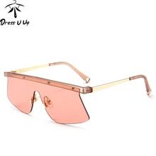 DRESSUUP Google gafas de Sol Mujeres Diseñador de la Marca de Calidad de Moda Shades UV400 Gafas de Sol Gafas De Sol Gafas Feminino Hombre