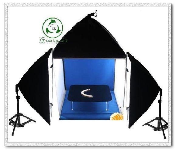 Adearstudio Bags camera accessories photo box 60cm studio light box softbox kit CD50