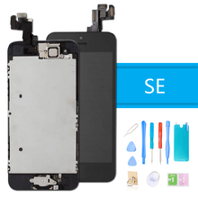 Luxury Suit LCD Display for iPhone SE Touch Screen Digitizer Full Assembly Screen Replacement Complete for iPhone SE + Tools wholesale replacement for highscreen boost 2 se 9169 innos d10 full lcd display touch screen digitizer assembly