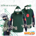 Anime Naruto Hatake Kakashi Ninja Cosplay Costume Jacket Unisex Hoodie Coat Thick Warm Cotton Hooded Sweater Sweatshirts
