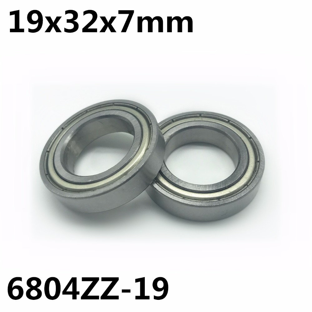 2PCS 6804ZZ Deep Groove Metal Double Shielded Ball Bearing 20mm*32mm*7mm