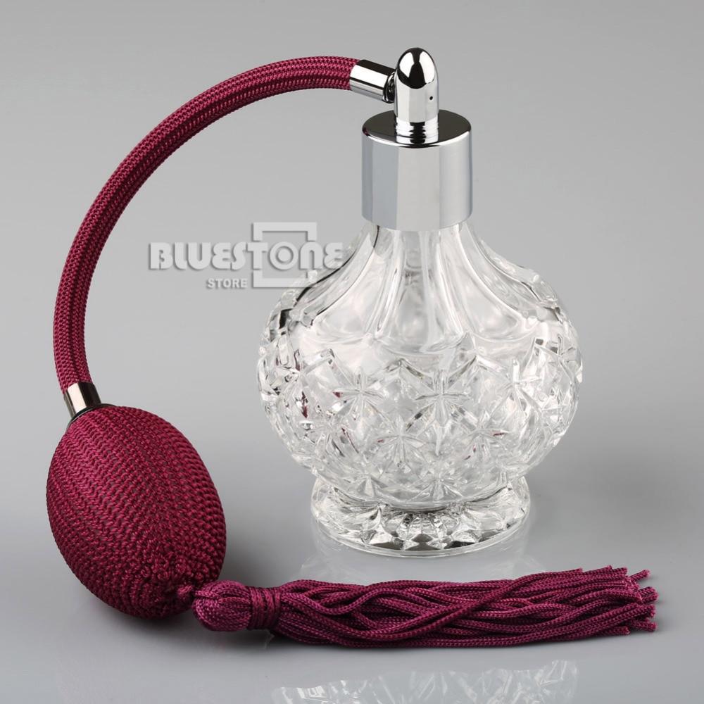 80ml kristal parfumflesje wijn rode lange spraakkwasten verstuiver - Huidverzorgingstools - Foto 2