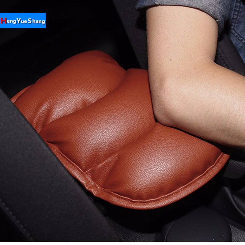 Automobiles & Motorcycles 1pcs Pu Car Armrests Cover Pad Console Arm Rest Pad For Fiat Panda Bravo Punto Linea Croma 500 595 Car Styling Accessories Comfortable And Easy To Wear