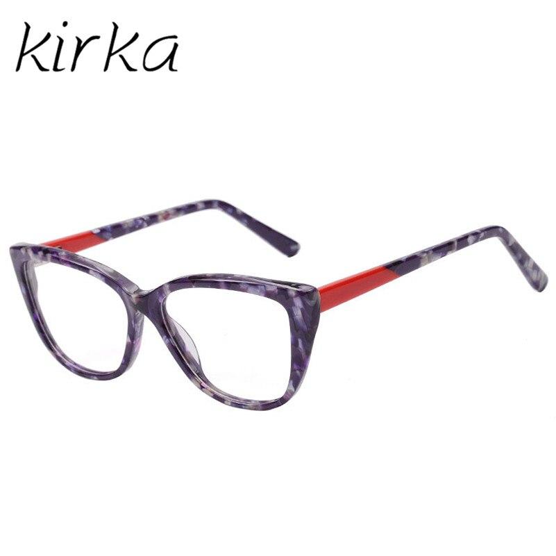 Kirka 2017 New Look Design Acetate Glasses Frame Cat Eye Feel ...