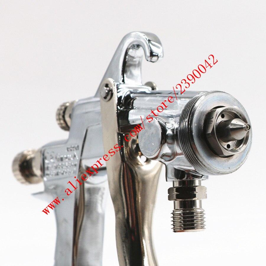 Pistolet de pulvérisation importé HVLP W101 pistolet de pulvérisation W-101 Type d'alimentation sous pression 1.0/1.3/1.5mm E2P revêtement de voiture pistolet de peinture pistolet à peinture - 5