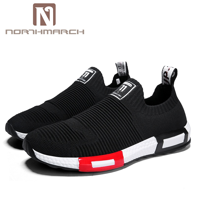 NORTHMARCH 2018 Men's Casual Shoes Slip-On Sneakers Men Breathable Shoe Mesh Men Shoes Summer Tenis Masculino Adulto Zapatos fashion summer men casual air mesh shoes large sizes 35 46 lightweight breathable slip on flats lovers shoe chaussure homme 606