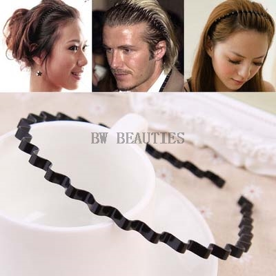 300Pcs/Lot Hot Sale Wave Shape Hair Clip Women And Handsome Men Beauty modeling tool Wholesale Free Shipping