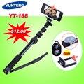 Yunteng yt-188 188 barra telescópica handheld monopod portátil autodisparador para xiaomi yi teléfono iphone 5s 6 s gopro go pro hero 4 3 + 2