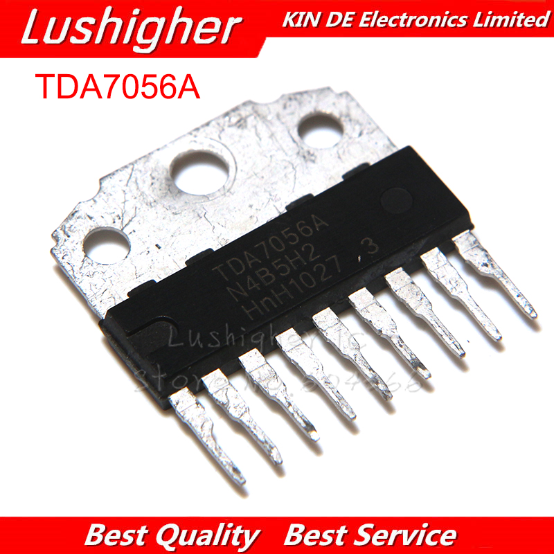 10pcs TDA7056A TDA7056B SIP-9 TDA7056 SIP9  Audio Power Amplifier Integrated Block
