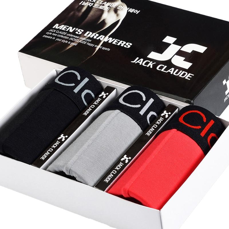 Jack Клод корейский Для мужчин модал пикантные брендовые Нижнее Бельё для девочек эласти ...