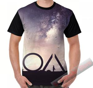 Летняя графическая футболка, мужские топы, футболки с принтом OA, Женская забавная футболка с коротким рукавом, повседневные футболки