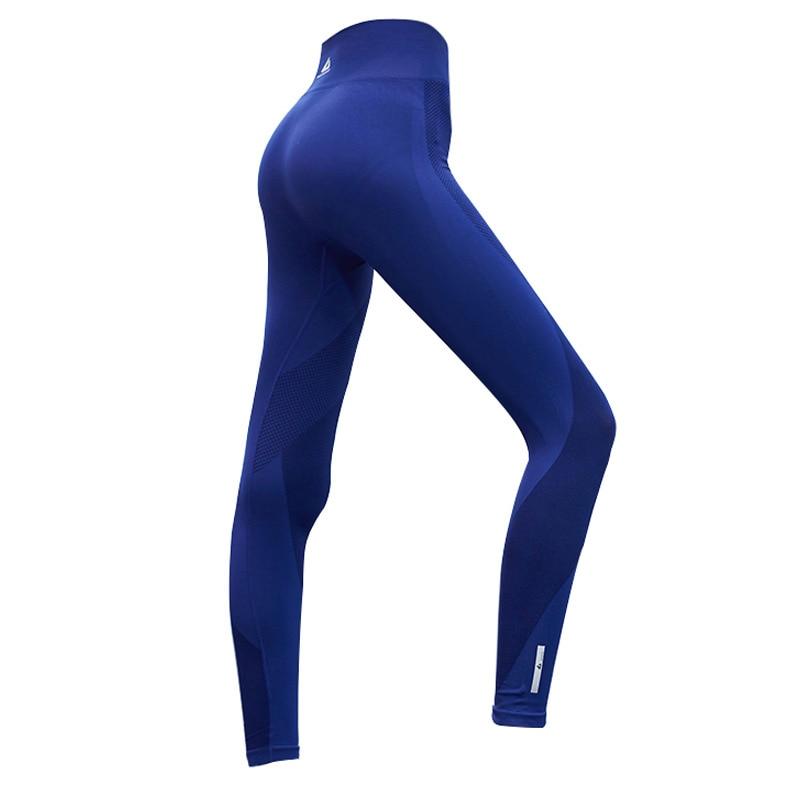 Womens Yoga Pants High Elasticity High Waist Yoga Leggings for Women Hip Up font b Fitness