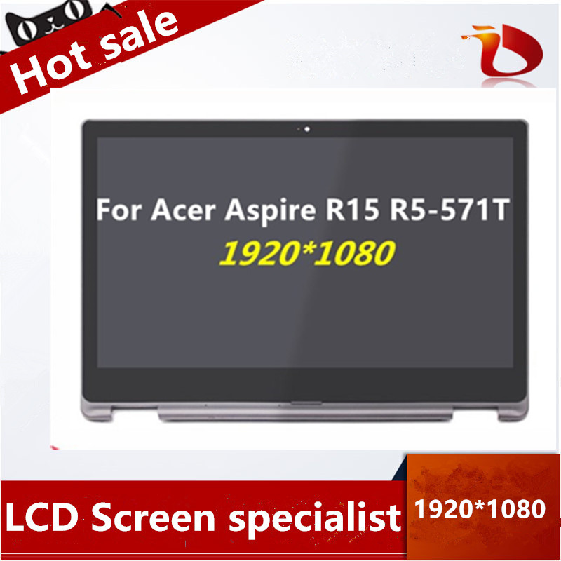 15 6 LCD TouchScreen Digitizer Assembly with Bezel For font b Acer b font Aspire R15