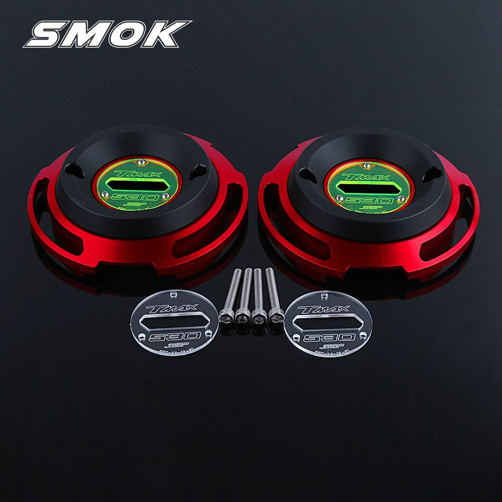 SMOK For YAMAHA TMAX T MAX 530 SX DX 2017 2018 Motorcycle Accessories CNC Aluminum Left Right Engine Protective Guard Cover yamaha reface dx