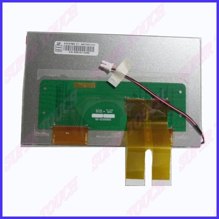 7 inch K6190 screen, Junda vehicle DVD navigation display original LCD screen