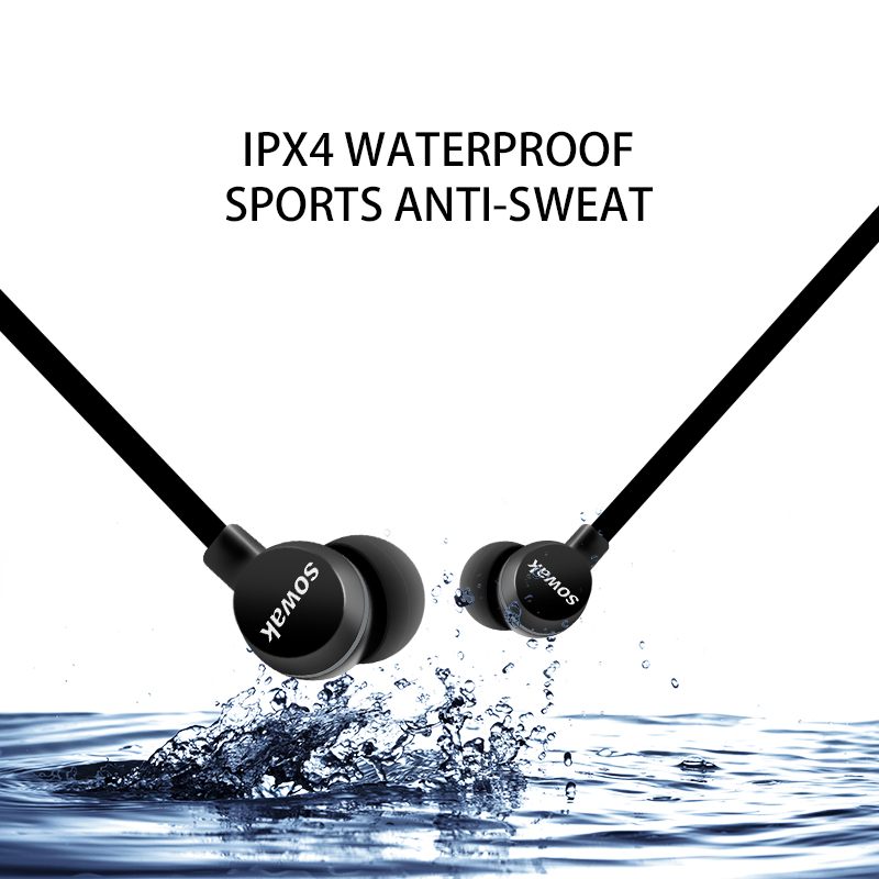 Sowak Bluetooth Headphone Bluetooth V4.1 IPX4 Sweatproof Headphones Sports Earphone Headphones Stereo Headset with mic for Phone усилитель сигнала сотовой gsm связи далсвязь ds 900 1800 17 c1