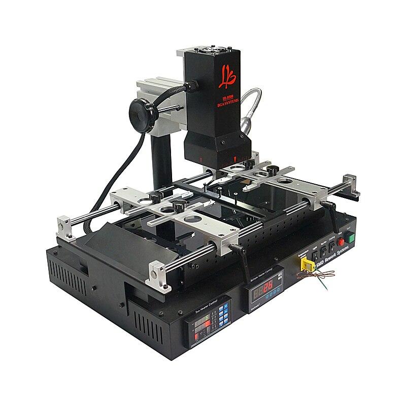 A raggi infrarossi stazione di rilavorazione Bga LY IR8500 v.2 di saldatura per di Chip Della Scheda Madre PCB Riparazione Rinnovato con la spazzola Pinzette stencil palla