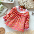 new 2014 spring autumn children blouse baby & kids clothes girl t shirt long sleeve t-shirt child 100% cotton Print pullover