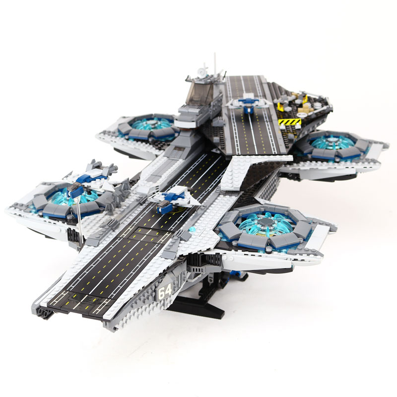 3057 Stucke LEPIN 07043 Super Heroes The SCHILD Helicarrier Modellbau Kits Blocke Bricks Boy Toys Kompatibel 76042 lepin 05111 482 stucke sterne echtem atemberaubende wars die jakku quadjumper set kinder bausteine lernspielzeug modell 75178