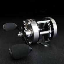 Супер мощная Рыболовная катушка 6 кг троллинговая катушка 6   1BB полностью Металлическая Рыболовная Снасть двойная углеродная тормозная система барабанная катушка