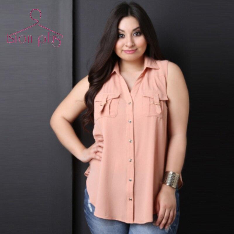 Buy kiss milk Office Women Plus Size Summer Blouse Shirt