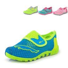 2016 D'été Enfants Chaussures Garçons Chaussures de Sport Casual Enfants Sneakers Air Mesh Respirant Filles Chaussures de Course Taille 26-37
