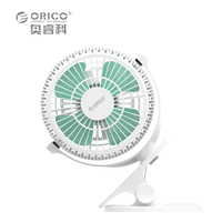 ORICO UF2 WH USB Fan Mini Electrical Fan With Key Switch Angle Adjustable White